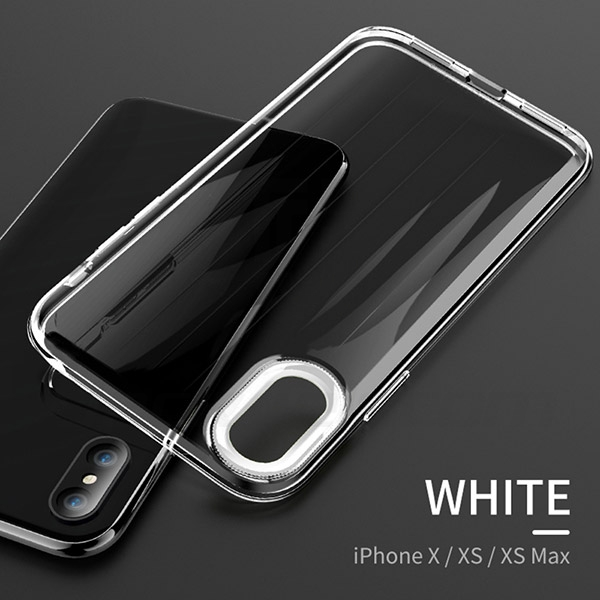 Ultra-Thin and Anti-Drop Protection Transparent Shell (Phantom Series) For iPhone